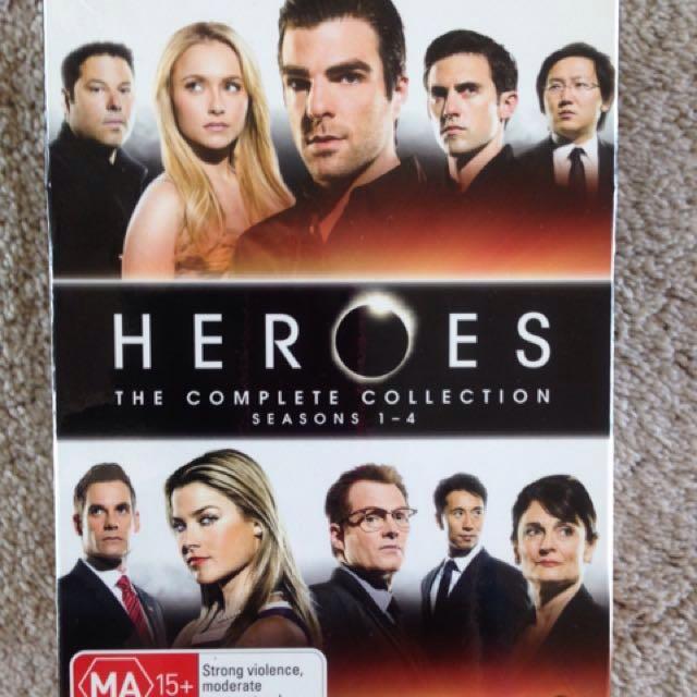 Heroes DVD box set