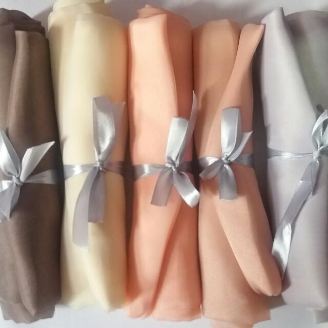 Hijab organza silk