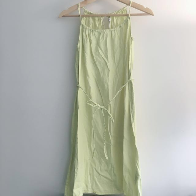 H&M Lime Green Lightweight Dress