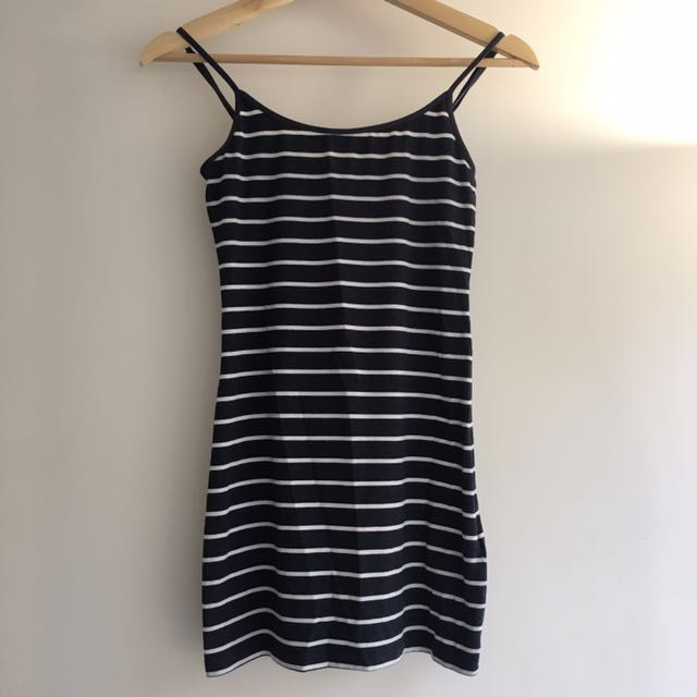 H&M Striped Little Dress