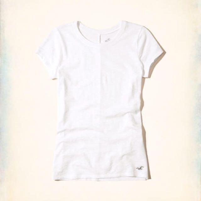 Hollister Must-Have Slim Crew T-Shirt