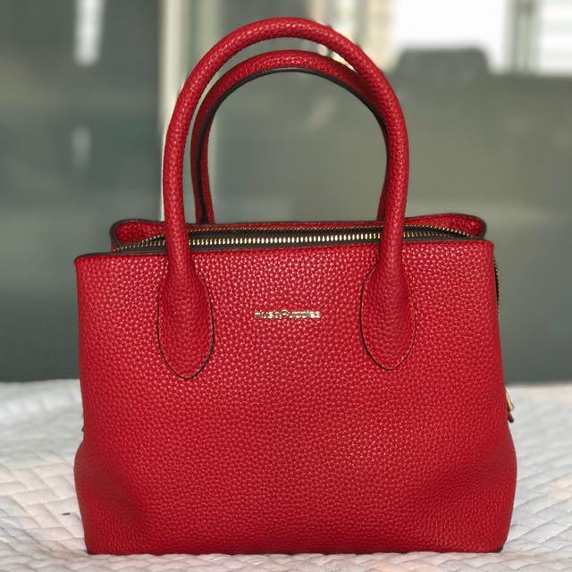 Hush Puppies Red Satchel Bag Women S Fashion Bags Wallets On Carou