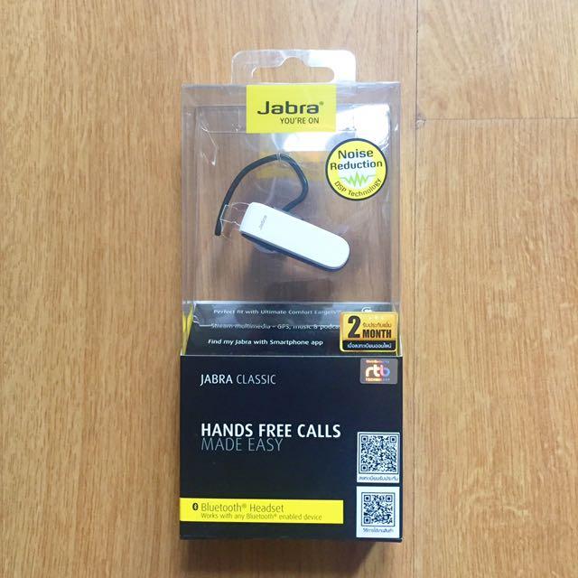 Jabra Classic Bluetooth Headset White