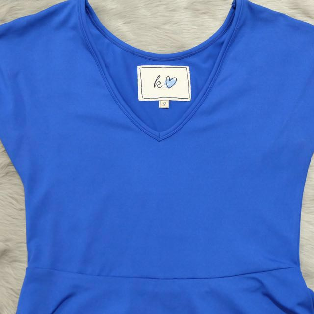 Kashieca Blue Dress (FITS MEDIUM FRAME)