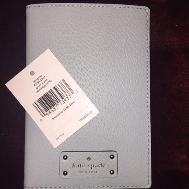 Kate Spade Passport &Card Holder