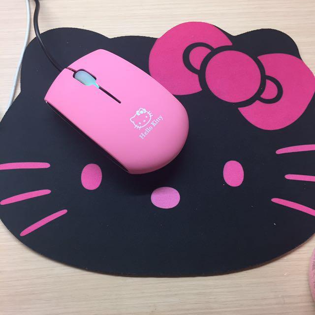 全新多款!Kitty滑鼠/滑鼠墊