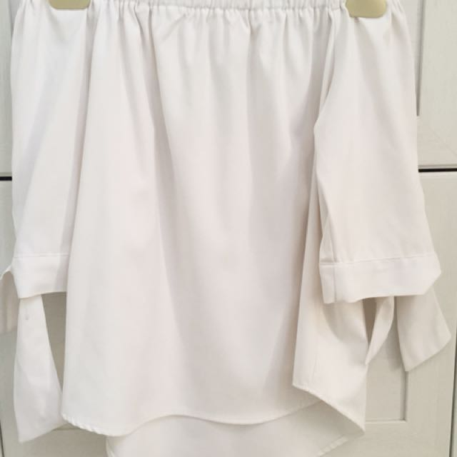 Kivee White Off Shoulder Top
