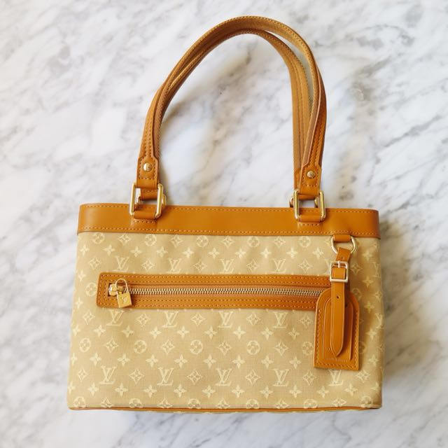 Louis Vuitton Mini Lin Lucille PM Handbag