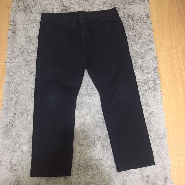 Men's Uniqlo Black Pants Size33
