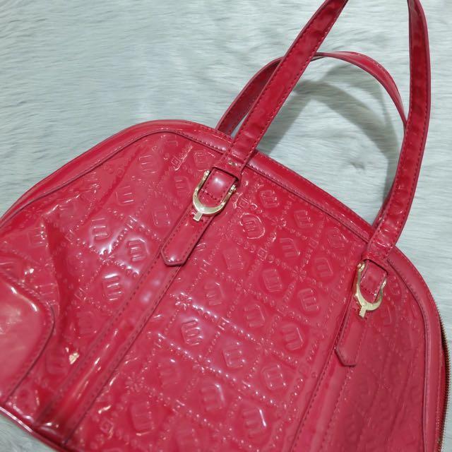 Milano Red Bag