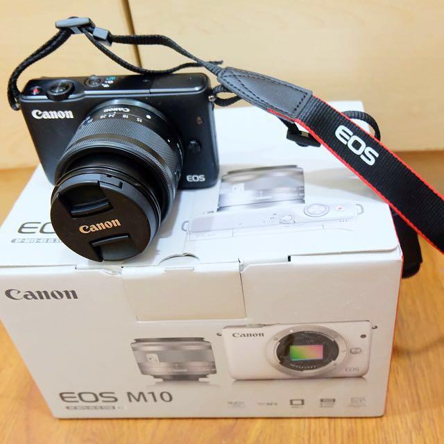 Mirrorless Canon EOS M10 Kit 15-45mm