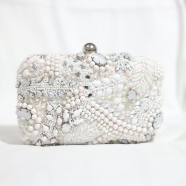 Miss Selfridge Jewel Clutch Original