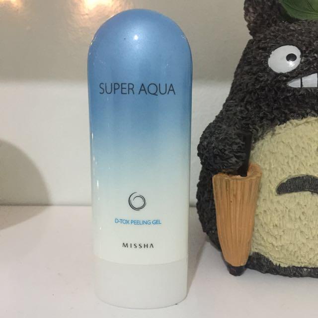Missha Super Aqua D-Tox Peeling Gel