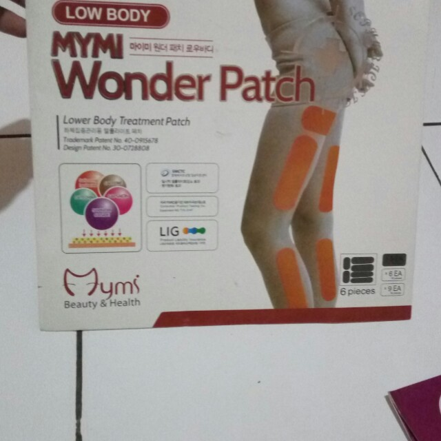 MYMI Wonder Patch Paha (Koyo Pelangsing), Kesehatan & Kecantikan, Kulit, Sabun & Tubuh di Carousell
