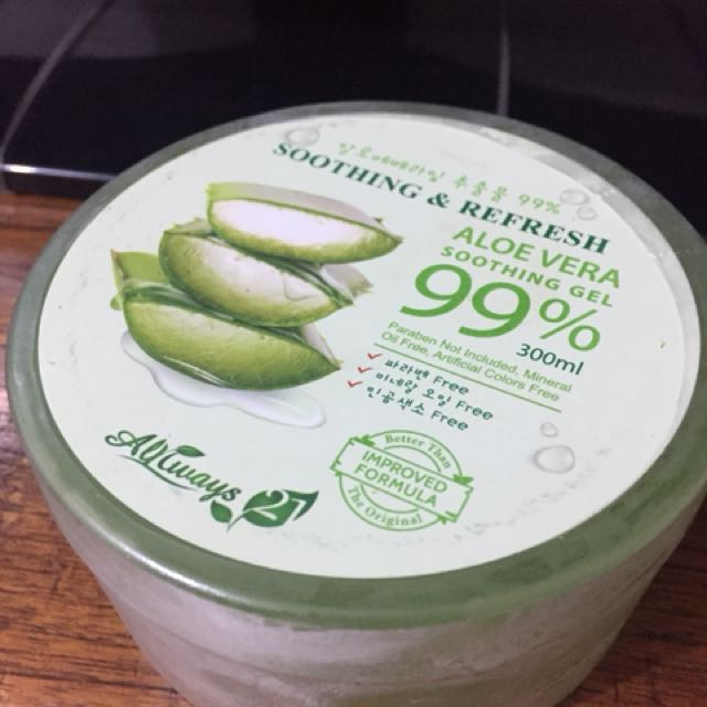 NEW always21 aloevera