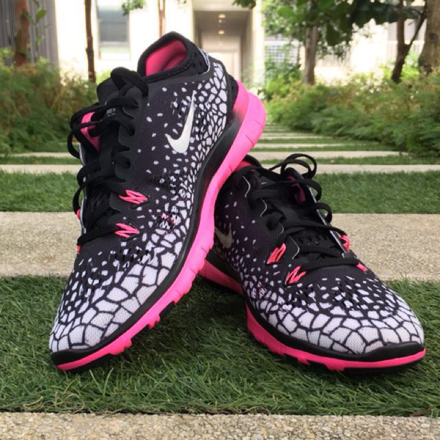 check out 83f70 3bf82 Nike Free 5.0 Tr Fit 5 Print Fitness Women's Shoes Size 6