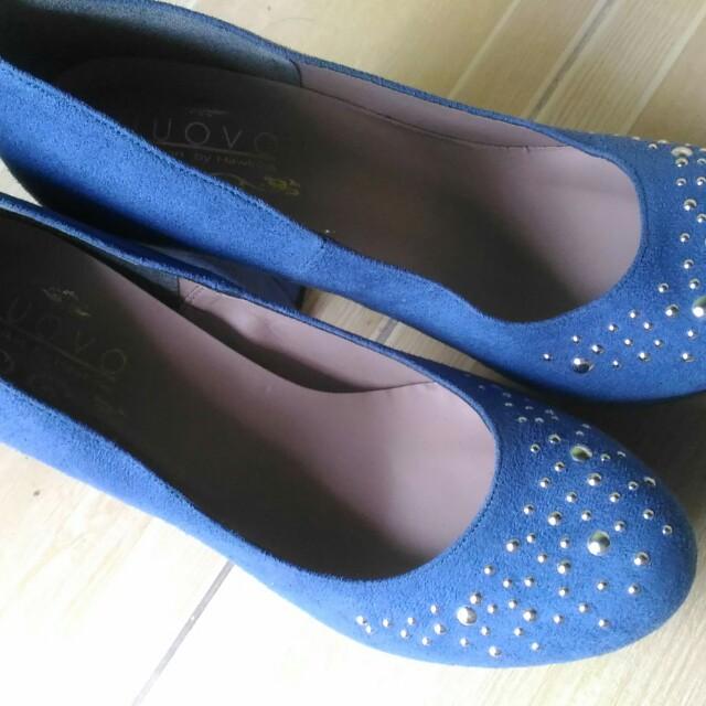 Nuovo Blue High Heels
