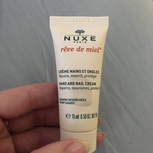 Nuxe Hand and Nail cream rêve de miel 15ml