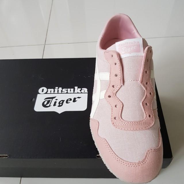 Onitsuka Tiger Pink Ladies Slip On