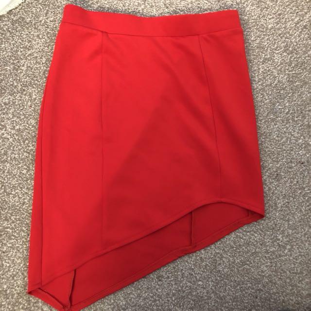 Open Cut Skirt