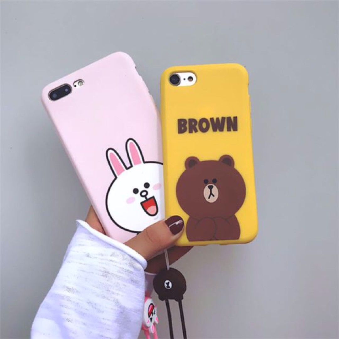 sneakers for cheap 91625 b9348 [PO] Cute Line Friends iPhone case