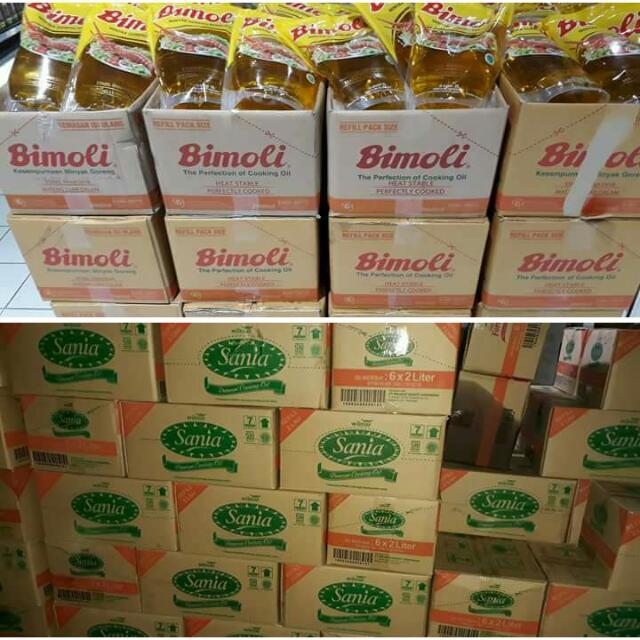 Promo Minyak Goreng Bimoli & Sania 2 Lt