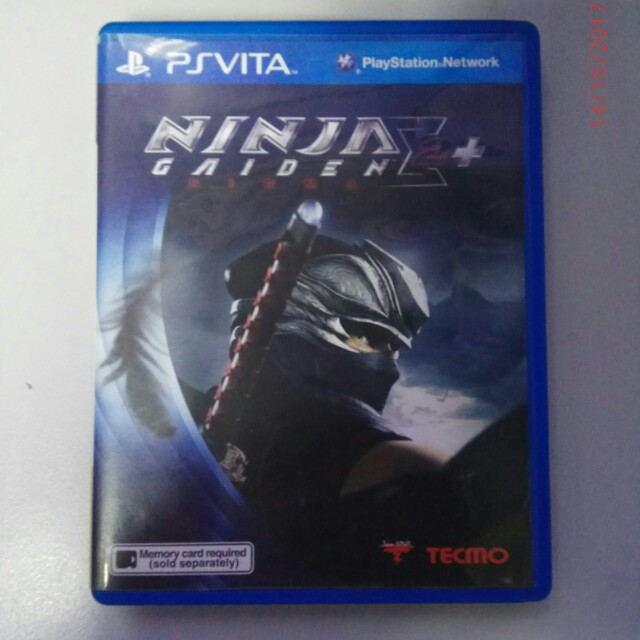 Ps Vita Game Original New Ninja Gaiden Sigma 2 Plus Toys