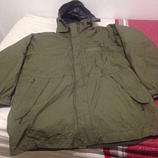 Rain And winter Mont.bell Coat