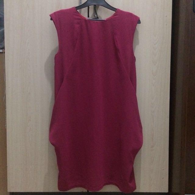 RE PRICE!! Dress fushia Ezpresso