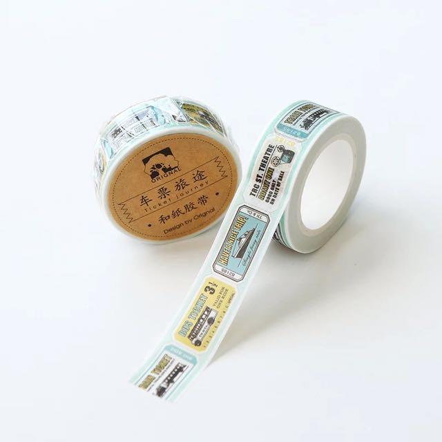 [READY STOCK] Bus Ticket Washi / Masking Tape