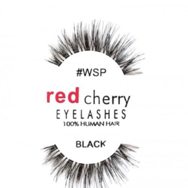 Red Cherry Wispy Lashes Health Beauty Makeup On Carousell