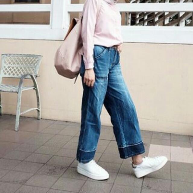 retro pallazo pants
