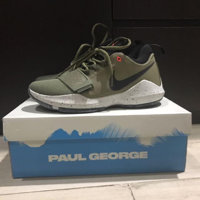 Sepatu basket PG 1 (paul george) Army green