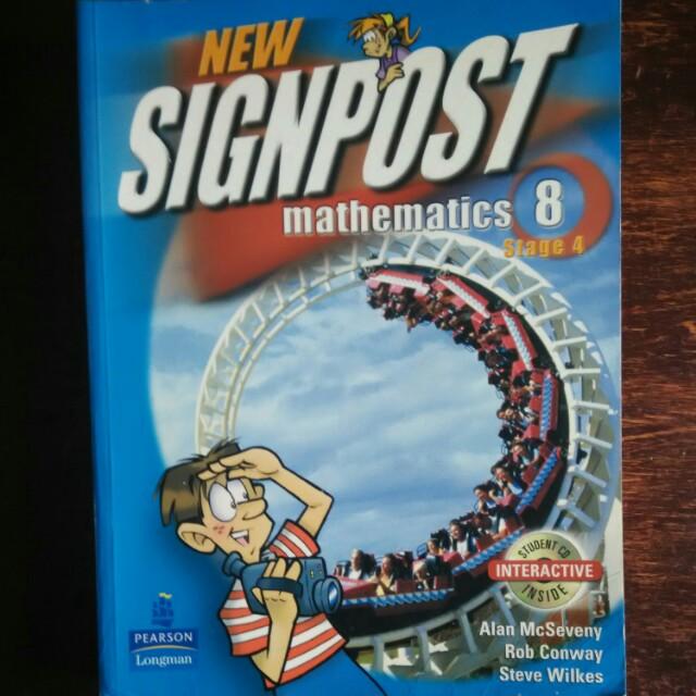 Signpost Mathematics Textbook 8 Stage 4