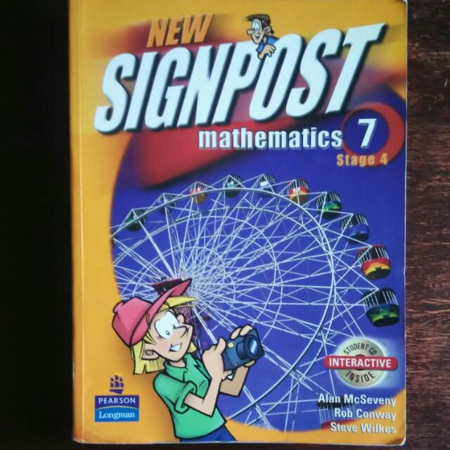 Signpost Mathematics 7 Stage 4 3rd edition
