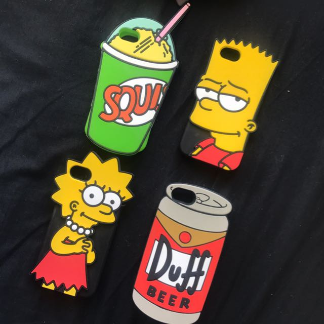 Simpsons iPhone 7/6 case