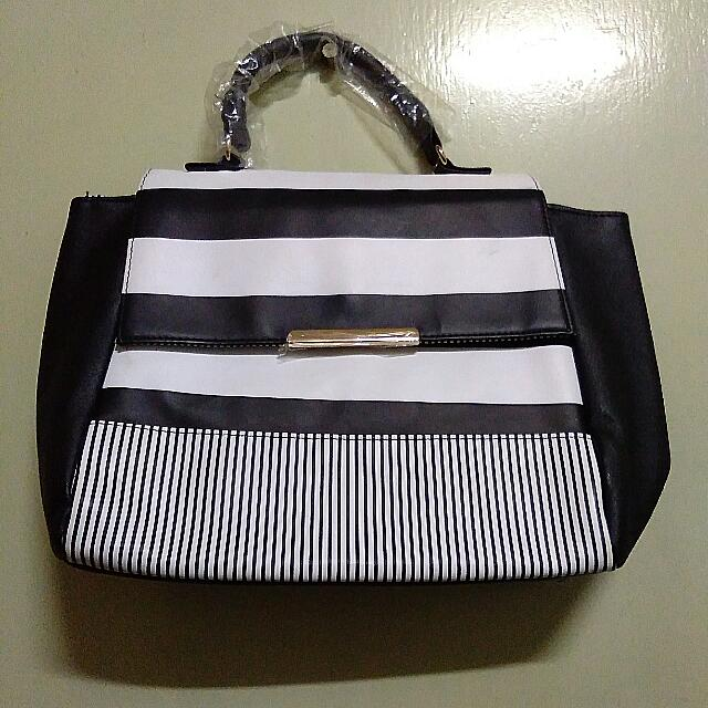 Stripes Hand Bag
