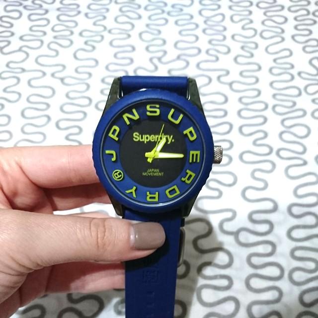 【二手】superdry藍色手錶