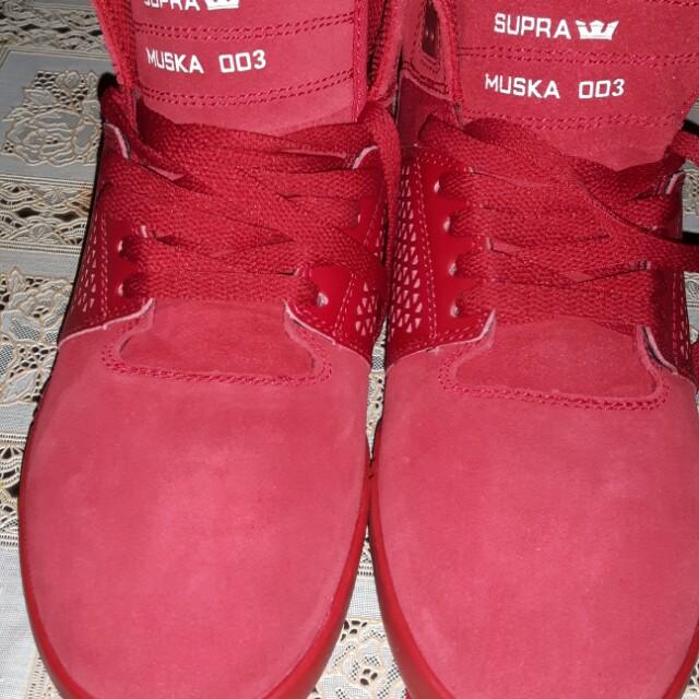 Supra Skytop 3 Red size 9