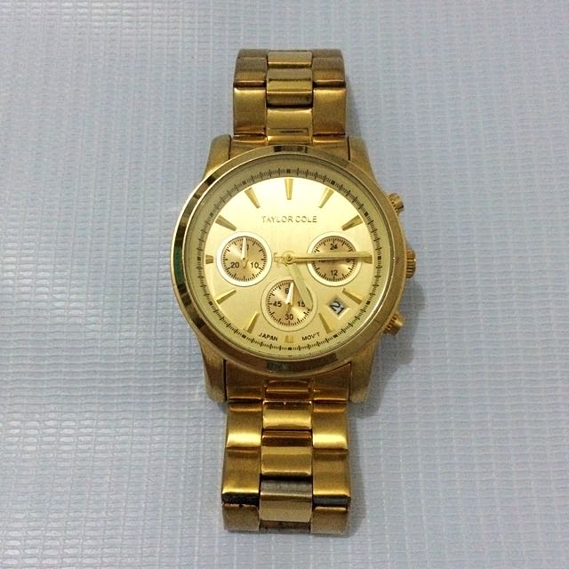 TAYLOR COLE WOMENS WATCH