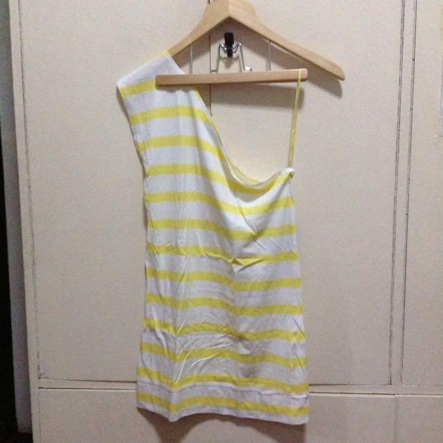 Terranova One sleeve Dress