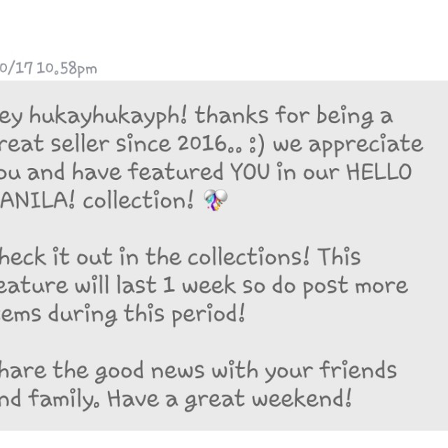 THANK YOU CAROUSELL ❤