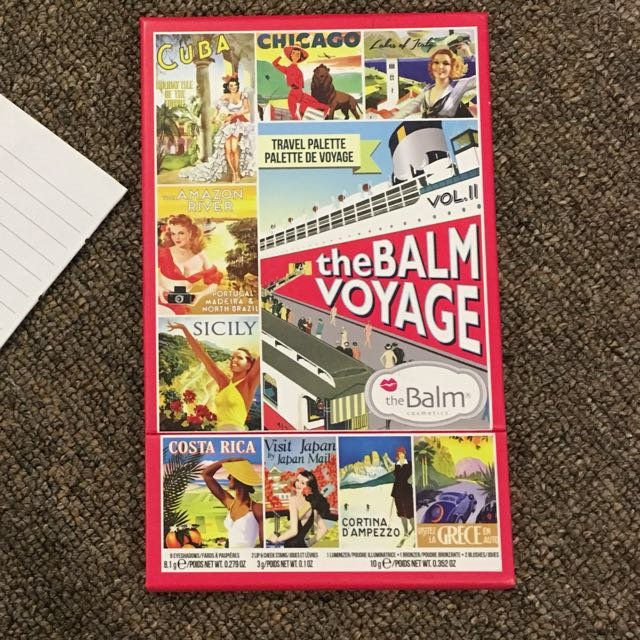 The Balm Voyage Vol 2 BRAND NEW