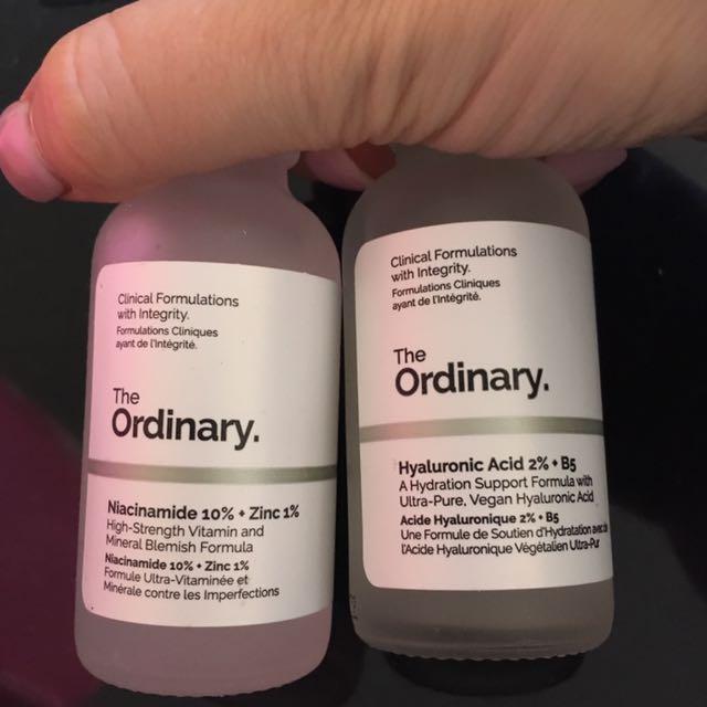 The Ordinary serums