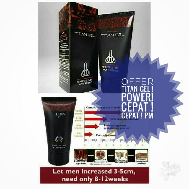 titan gel powerr produk badan dan kecantikan produk lelaki di