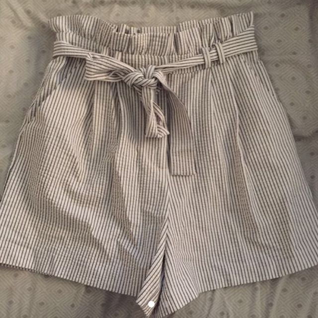 top shop high waisted shorts size 4