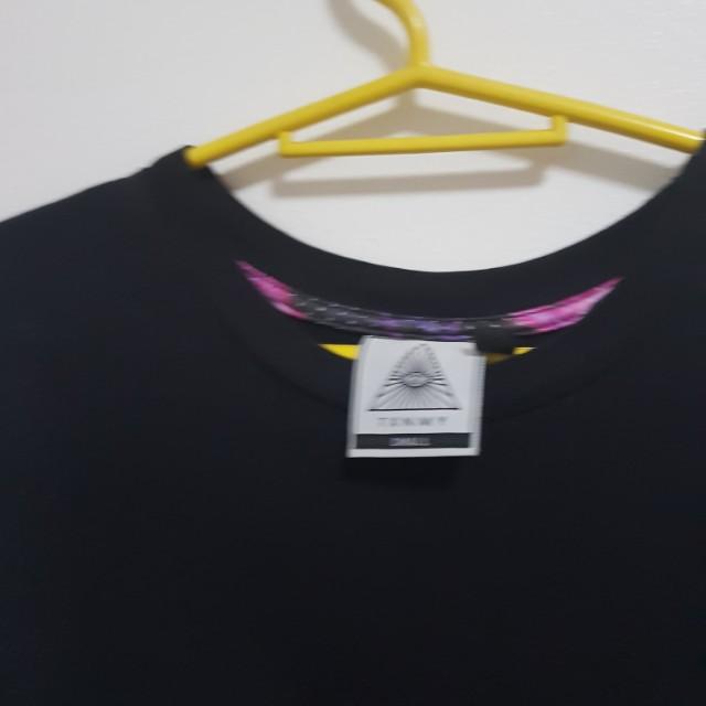 Topman Galaxy Mesh Shirt