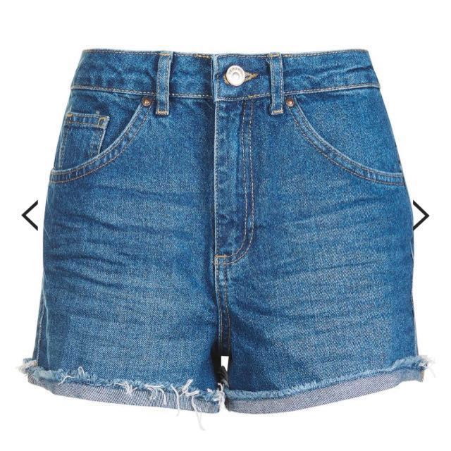 Topshop MOTO Girlfriend Shorts