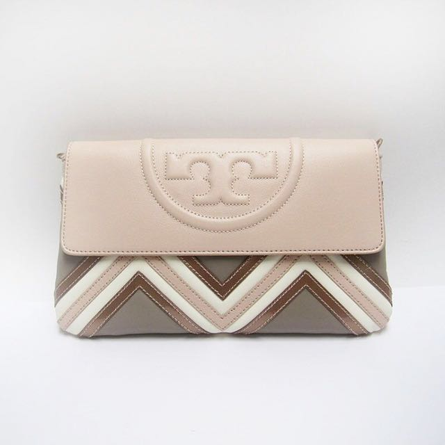 Tory Burch Fleming Geometric Clutch