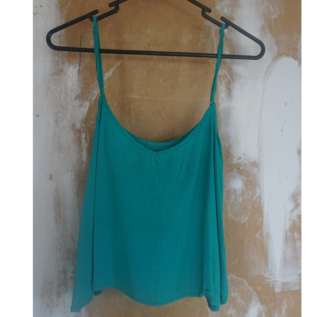 Turquoise Glassons Singlet, Size 6